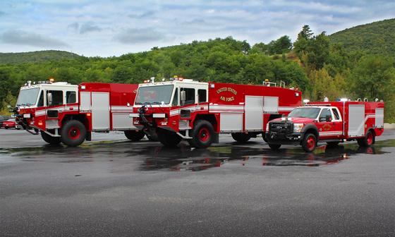 KME ARFF Vehicles