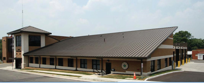 2 The Public Safety Department in Vinton, Virginia, consisting of the Fire and Rescue Department and Vinton First Aid Crew in two buildings, had Stewart-Cooper-Newell Architects renovate the existing fire station and add on a new first aid building to make a single up-to-date facility. (Photo courtesy of Stewart-Cooper-Newell Architects