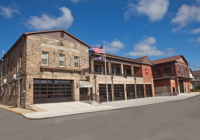 The Lehighton (PA) Fire Department had H2M Architects put a five-bay addition onto its existing fire station. (Photo courtesy of H2M Architects