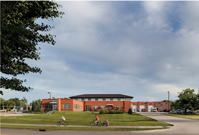 6 Fire Station Design Consulting worked with SVPA Architects to do a renovation and expansion for the Ankeny (IA) Fire Department's Fire Station Number 1. (Photo courtesy of SVPA Architects