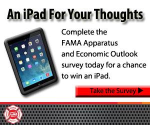 Fire Apparatus Manufacturers' Association (FAMA) Survey