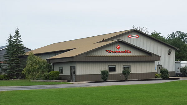 Firematic Supply Company's new facility in Altamont, New York.