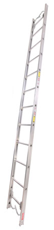 4 Duo-Safety Ladder makes both folding and double-ended roof ladders. Shown is the double-ended version with recessed roof hooks on each end. (Photo courtesy of Duo-Safety Ladder.)