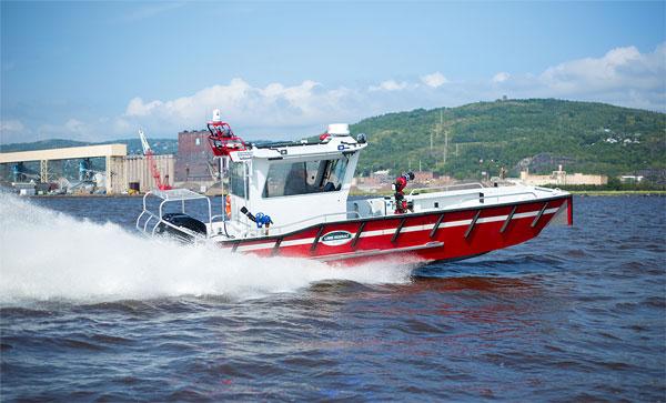 Lake Assault boats