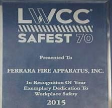 Ferrara Safety Award
