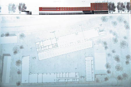 8 The ground plan for the new station that will replace the current one. Construction was scheduled to start this year