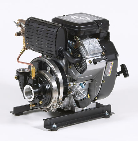 4 Hale Products makes the HP75-B18 wildland pump, which is powered by a Briggs & Stratton four-cycle V-twin gasoline engine that provides a maximum flow of 140 gpm at 375 psi. (Photo courtesy of Hale Products