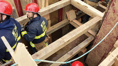 3 Although many consider oak better for cribbing, Federal Emergency Management Agency (FEMA) engineers disagree because hardwoods like oak are denser, provide fewer warning signs, and catastrophically fail much faster than softwoods do