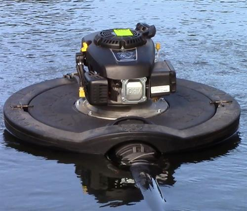 Warthog Floating Pump in action