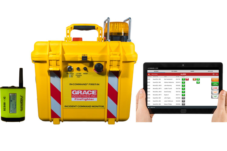 Grace Firefighter Incident Command Monitor