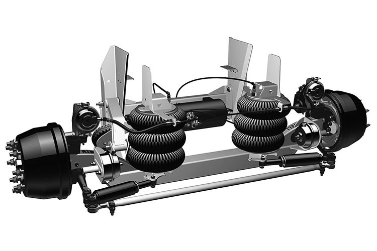 Ridewell Offers Factory Integrated Air Tank for RSS-233 Suspensions