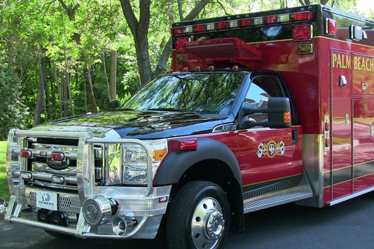Demers ambulance for Palm Beach Fire