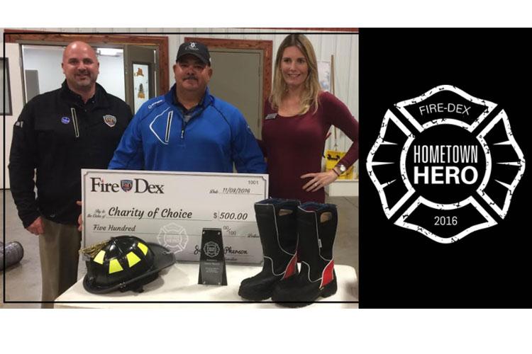 Fire-Dex Recognizes Hometown Hero Jamie Brock