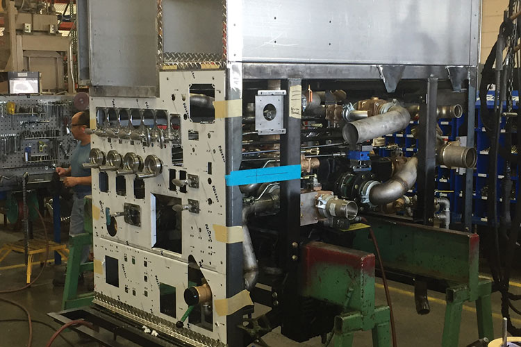 3 Pump modules are also built at the IPP facility