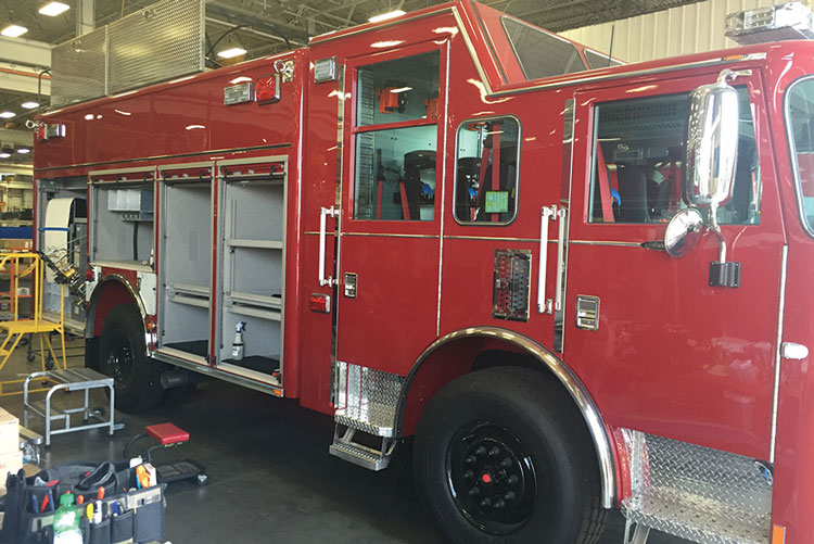 4 Pierce builds the Encore rescue bodies, modular bodies bolted together in lengths from 11 to 23 feet in stainless steel or aluminum