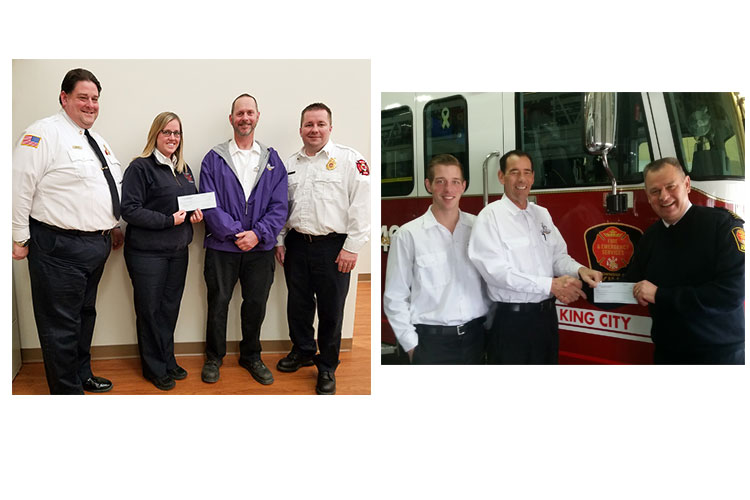 Dryer Wizard awards grants to various fire protection programs.