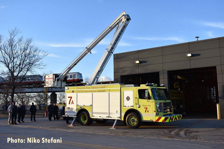Chicago Fire Department Squad Co. 7 Demo