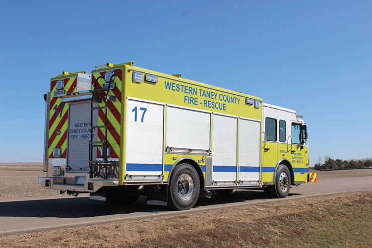 4 Post (TX) Fire Rescue went to Maintainer Custom Bodies for this aluminum-bodied quick-attack engine.