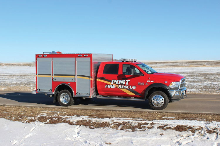 5 Western Taney County (MO) Fire Rescue had Maintainer Custom Bodies build this heavy rescue truck with an all aluminum body.