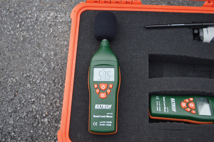 1 A class 2 sound level meter. (Photos by author.)