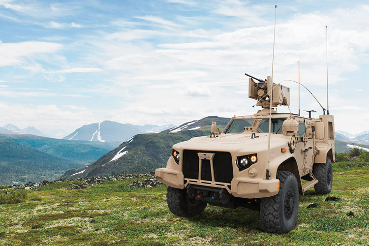 2 Providing mobility to people where roads were not paved was how the company began. In the case of the its JLTV Solution, the L-ATV (Light Combat Tactical All-Terrain Vehicle), Oshkosh's TAK-4i®  suspension allows that mobility in some of the world's toughest terrains.