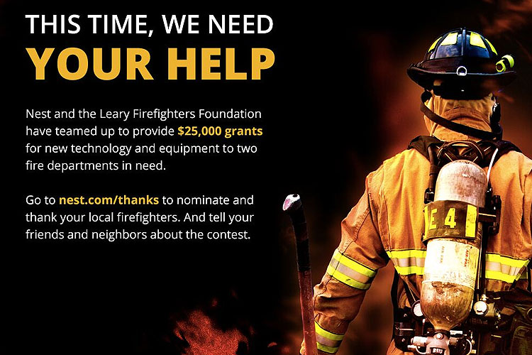Nest, Leary Firefighters Foundation offer grants for fire departments