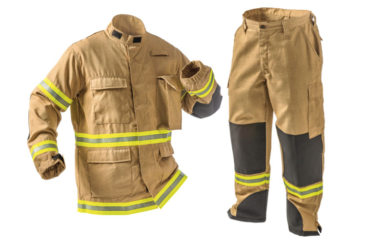 2 Fire-Dex/TECGEN manufactures PPE to combat both the number one (cancer) and number two (heat stress and cardiac fatigue) causes of firefighter-related deaths. (Photos courtesy of Fire-Dex/TECGEN