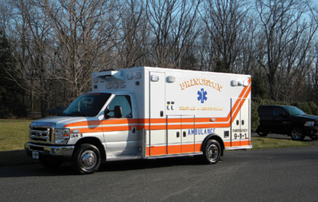 3The wheelbase on the Princeton ambulance is 158 inches, overall length is 22 feet 11 inches, and overall height is 8 feet 11 inches.