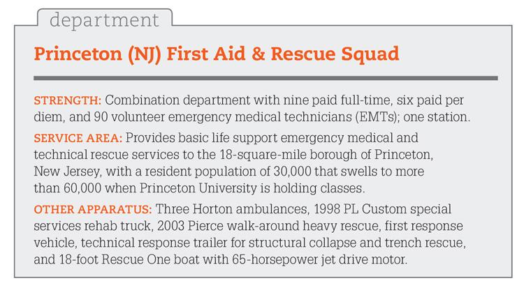Princeton (NJ) First Aid & Rescue Squad