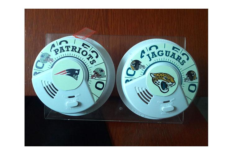 Patriots and Jaguar smoke alarms