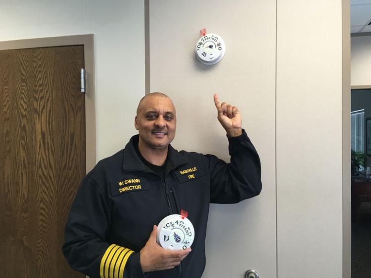 Nashville Fire Department Director Chief William Swann
