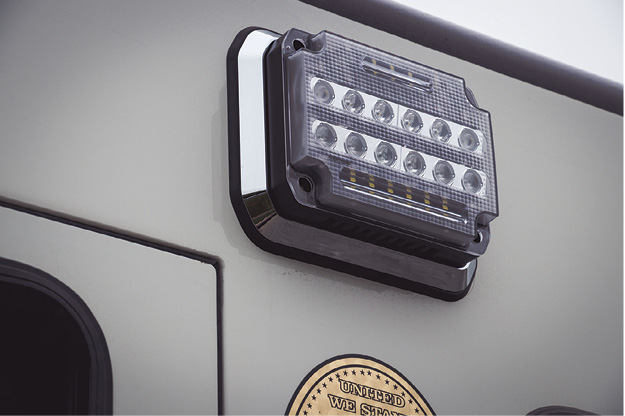 3HiViz LED Lighting makes the FireTech Guardian Scene LED light for fire apparatus. (Photo courtesy of HiViz LED Lighting.)