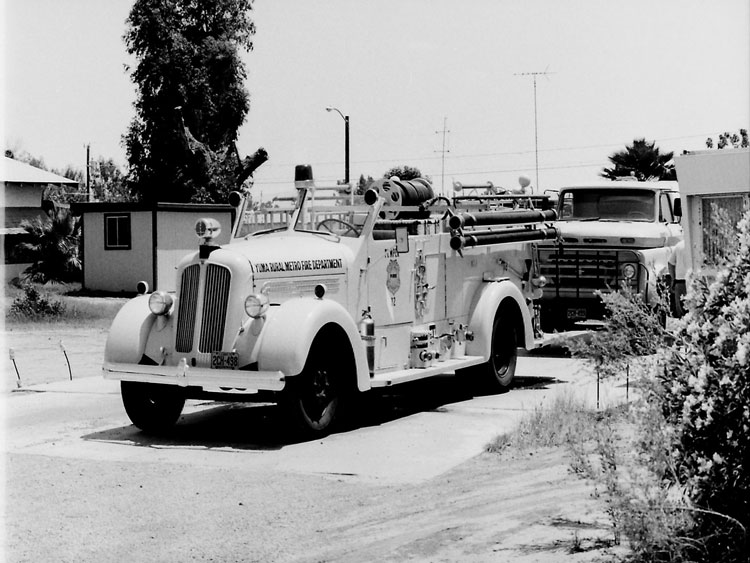 Rural Metro fire apparatus from 1971