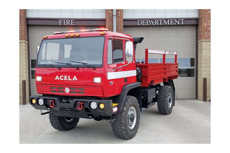 Acela Trucks