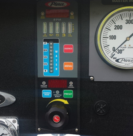 4An example of an electronic Vernier style throttle.
