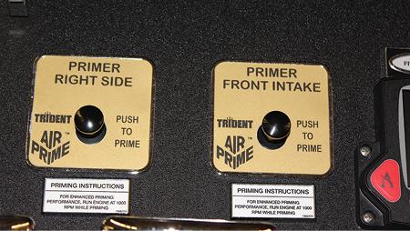 9Primer controls for intake priming.