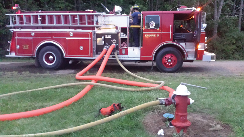 13 The operator must practice securing hydrants to increase efficiency of getting water.