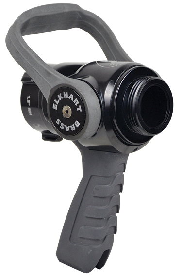 4The 15 XD Shutoff with pistol grip is made by Elkhart Brass Company.