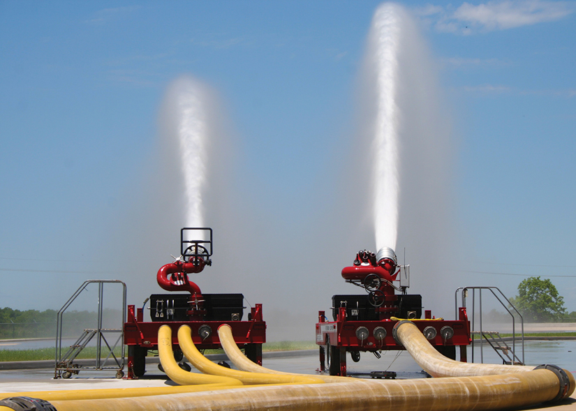 8Ranger 3 and Ranger 3 Plus, made by Williams Fire and Hazard Control, can be either a fixed flow size or jet pump fed.