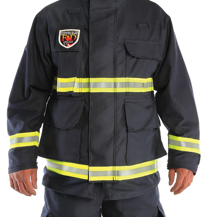 Fire-Dex's USAR PPE has a CROSSTECH® SR moisture barrier and an outer shell of either TECGEN51 or traditional Nomex®.
