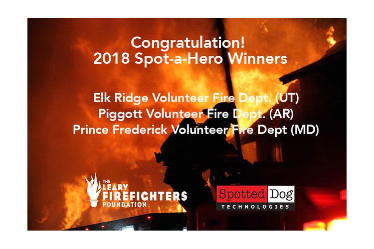 Leary Firefighters Foundation winners