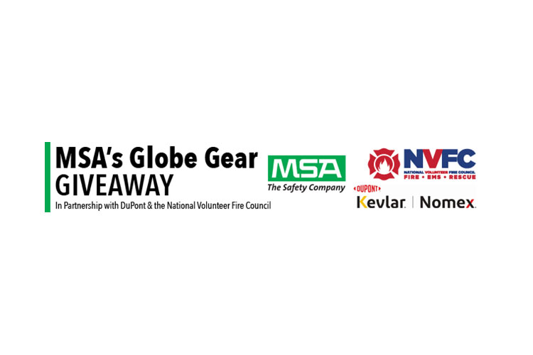 Volunteer Fire Departments in AL, IN are the Latest Recipients in MSA's and DuPont's 2021 Globe Gear Giveaway