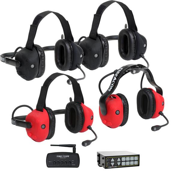 New Fire-Com 500-Series Wireless Headsets