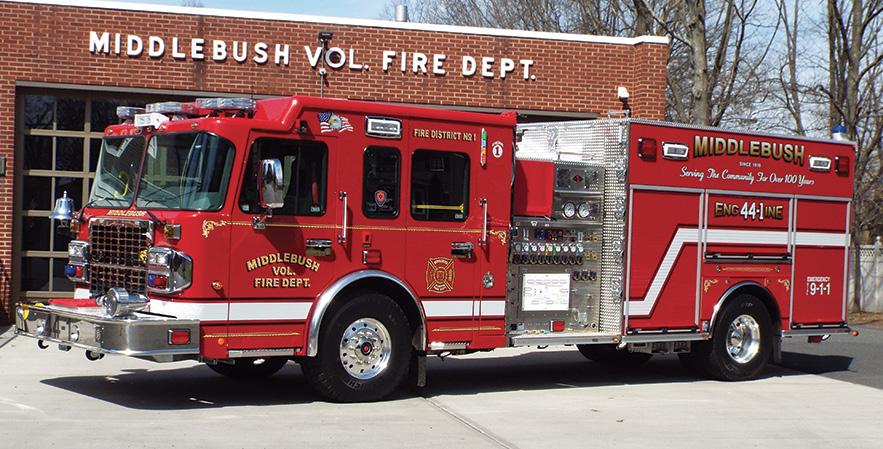 Spartan ER—Middlebush Fire Company, Franklin Township, NJ, pumper.