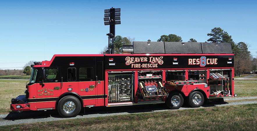 SVI—Beaver Lane Fire & Rescue, Marshville, NC, heavy rescue.