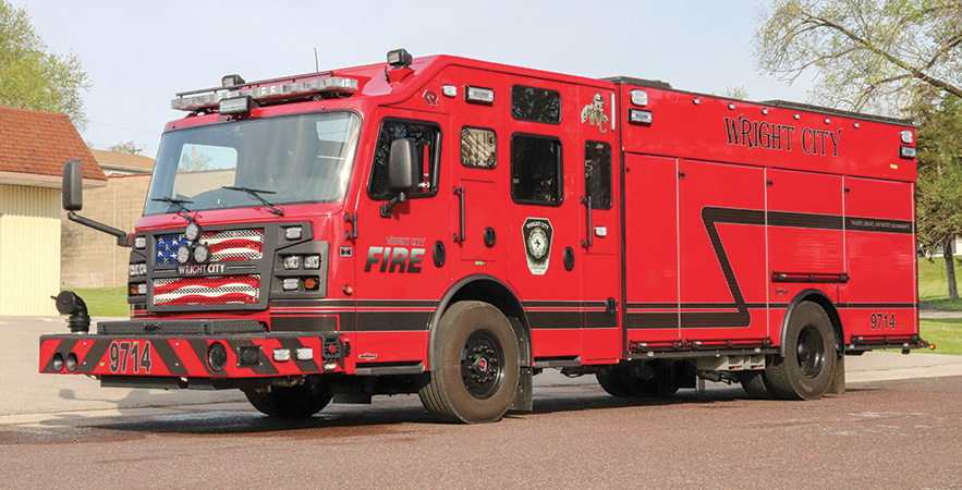 Rosenbauer—Wright City (MO) Fire Protections District pumper.