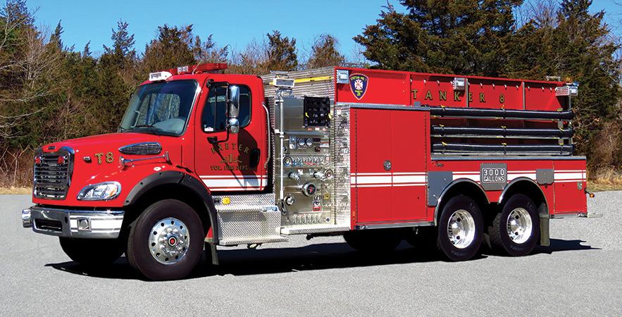 Toyne—Exeter (RI) Volunteer Fire Department #1, pumper-tanker.