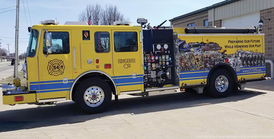 Seagrave—Union Township, Chesterfield, IN, custom pumper.
