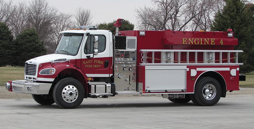 Danko—East Fork Fire Department, Rush, KY, pumper-tanker.