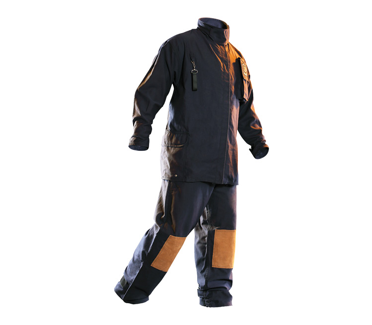 The Chieftain brand of wildland turnout gear made by Fire-Dex is offered in coat, pant, and coverall styles.